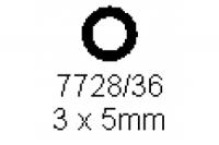 Rohr 3.0x5.0mm Länge 1000mm