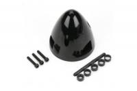 DUBRO Spinner 3-Blatt, schwarz, 51 mm