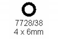 Rohr 4.0x6.0mm Länge 1000mm