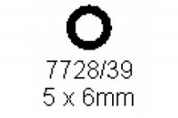 Rohr 5.0x6.0mm Länge 1000mm