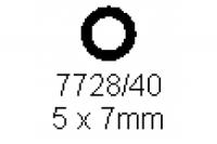Rohr 5.0x7.0mm Länge 1000mm