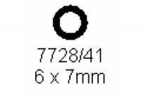 Rohr 6.0x7.0mm Länge 1000mm