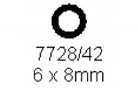 Rohr 6.0x8.0mm Länge 1000mm