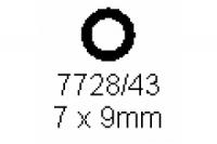 Rohr 7.0x9.0mm Länge 1000mm