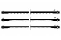 Proxxon Sägeblätter, normal verzahnt