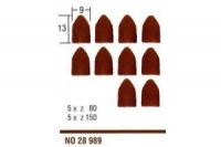 Ersatzschleifkappen, K80 und 150