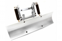 XTRA Aluminum Alloy Snow Plow Blade with Chassis Mount for Traxxas TRX-4, AXIAL SCX10 / II