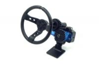 YEAH RACING X DarkDragonWing Motion Steering Wheel 1/10