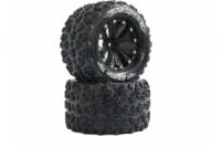 Jamara Reifen+Felgen 1:10 MT-Spider 12mm 1-2OS