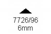 3-kant Profil 90° 6.0mm Länge 1000mm