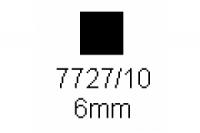 4-kant Profil quadratisch 6.0x6.0mm Länge 1000mm
