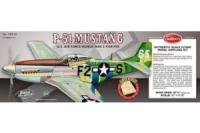 Guillow Bausatz der P-51 Mustang ca, 70 cm Spannweite