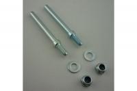 Simprop Radachsen 4mm mit Stoppmuttern 1Paar