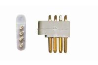 Multiplex Stecker (MPX) 4-Pol 5St.