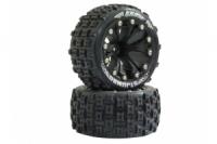 Jamara Reifen+Felgen 1:10 ST-Jumbo 12mm