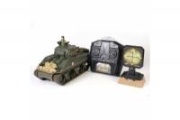 WAL RC Panzer Sherman M4A3 75mm