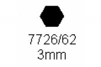 6-kant Profil SW 3.0mm Länge 1000mm