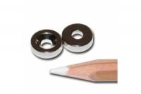 Power Magnete rund 10x3mm mit Loch 2 Stück