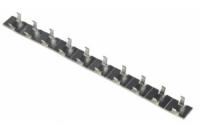 Kabelschelle, Clip, Aluminium, selbstklebend,