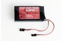 Senderakku LiPo 1S3P/9000 3,8V 34,2Wh