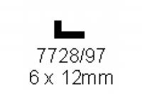 L-Profil 6.0x12.0mm Länge 1000mm