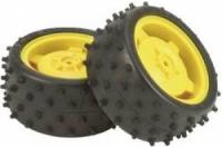 Tamiya Rear Tire & Weel 2 Stk.