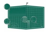 Donau Selbstheilende Schneidematte A1 (900 x 600 x 3 mm) faltbar