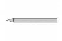 Donau Lötkolbenspitze 4mm Bleistiftform