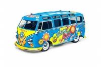 VW Bus T1 Samba Flowerpower (vorlackiert) M-05 Bausatz