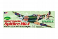 Guillow Bausatz der Spitfire MKI in 1:30