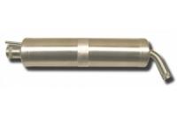 Schalldämpfer mit Bogenauslass und Smokeanschluss, bis 65ccm