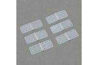 DuBro Scharnier aus Nylon, 14 x 28 mm