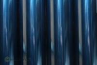 Oralight transparent Bügelfolie blau