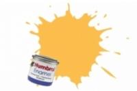 Humbrol Enamel Farbe, 1024 trainergelb matt