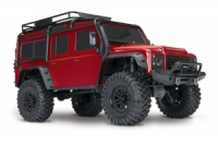 Traxxas Land Rover Defender 1:10 RTR rot