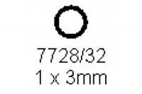 Rohr 1.0x3.0mm Länge 1000mm