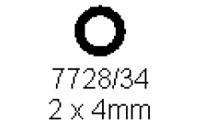 Rohr 2.0x4.0mm Länge 1000mm
