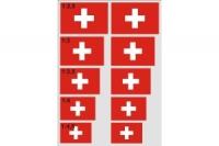 Schweizer-Kreuze selbstklebend