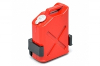 BOOM RACING 1/10 Fuel Bottle Gasoline Tank with Mount Red