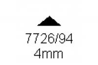 3-kant Profil 90° 4.0mm Länge 1000mm
