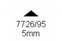 3-kant Profil 90° 5.0mm Länge 1000mm
