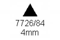 3-kant Profil 60° 4.0mm Länge 1000mm