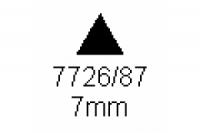 3-kant Profil 60° 7.0mm Länge 1000mm