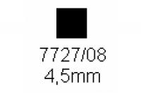 4-kant Profil quadratisch 4.5x4.5mm Länge 1000mm