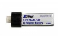 E-Flite Akku LiPo, 3,7 V 70 mAh, 14C